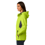 Chg Grn Mag Gy Port Authority Ladies Cascade Waterproof Jacket as seen from the sleeveright