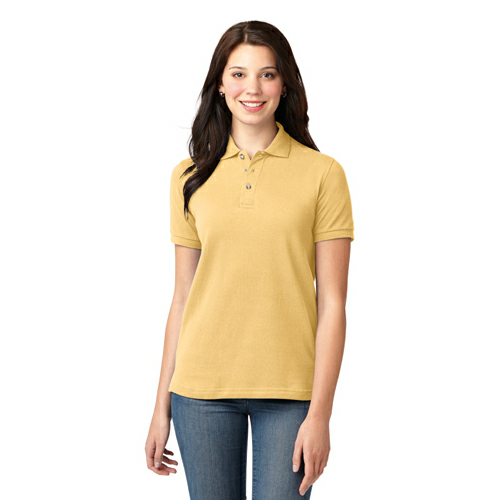 Port Authority Ladies Pique Knit Polo - Embroidery