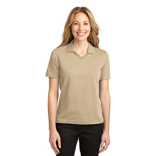 Port Authority Ladies Rapid Dry Polo - Embroidered