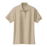 Stone Port Authority Ladies Silk Touch Polo as seen from the front