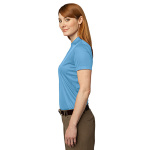 Ocean Blue Port Authority Ladies Performance Fine Jacquard Polo as seen from the sleeveleft