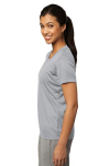 Silver Sport-Tek Ladies Competitor Tee as seen from the sleeveleft