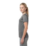 Vintage Hthr Sport-Tek Ladies Heather Contender Scoop Neck Tee as seen from the sleeveright