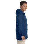 New Navy Men's Essential Rainwear as seen from the sleeveright