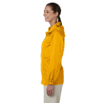 Sunray Yellow Ladies' Essential Rainwear as seen from the sleeveleft