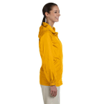 Sunray Yellow Ladies' Essential Rainwear as seen from the sleeveright