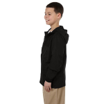 Black Youth Essential Rainwear as seen from the sleeveright