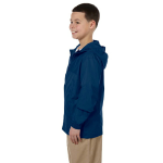 New Navy Youth Essential Rainwear as seen from the sleeveright