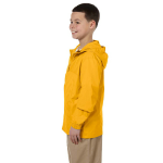 Sunray Yellow Youth Essential Rainwear as seen from the sleeveright