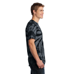 Black Port & Company Essential Tie-Dye Tee as seen from the sleeveright