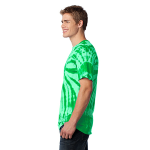 Kelly Port & Company Essential Tie-Dye Tee as seen from the sleeveleft