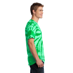 Kelly Port & Company Essential Tie-Dye Tee as seen from the sleeveright