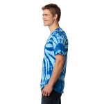 Royal Port & Company Essential Tie-Dye Tee as seen from the sleeveleft