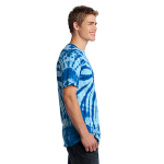 Royal Port & Company Essential Tie-Dye Tee as seen from the sleeveright