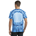 Royal Port & Company -Essential Window Tie-Dye Tee as seen from the back