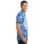 Royal Port & Company -Essential Window Tie-Dye Tee as seen from the sleeveright