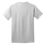 Ash Port & Company 5.4-oz 100% Cotton T-Shirt as seen from the back