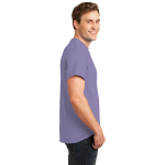 Hthr Purple Port & Company 5.4-oz 100% Cotton T-Shirt as seen from the sleeveright