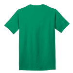 Kelly Port & Company 5.4-oz 100% Cotton T-Shirt as seen from the back
