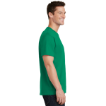Kelly Port & Company 5.4-oz 100% Cotton T-Shirt as seen from the sleeveright