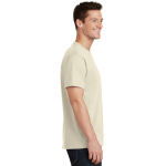 Natural Port & Company 5.4-oz 100% Cotton T-Shirt as seen from the sleeveright