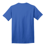 Royal Port & Company 5.4-oz 100% Cotton T-Shirt as seen from the back