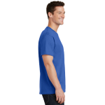 Royal Port & Company 5.4-oz 100% Cotton T-Shirt as seen from the sleeveright