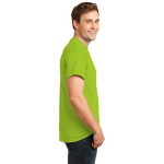 Lime Port & Company Essential T-Shirt as seen from the sleeveright