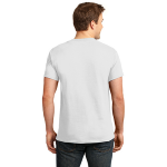 White Port & Company Essential T-Shirt as seen from the back
