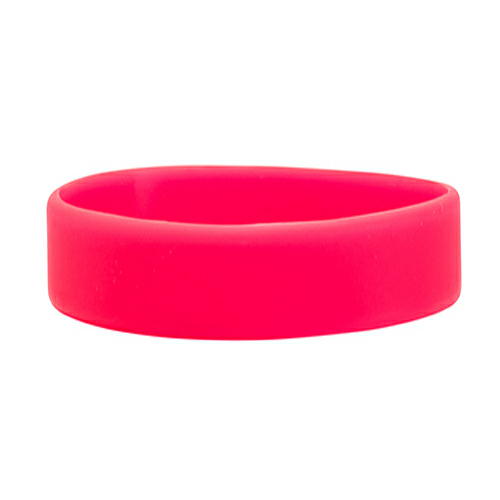 Hot Pink Printed Wristbands 1