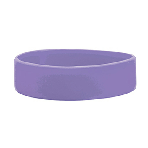 Lavender Printed Wristbands 1