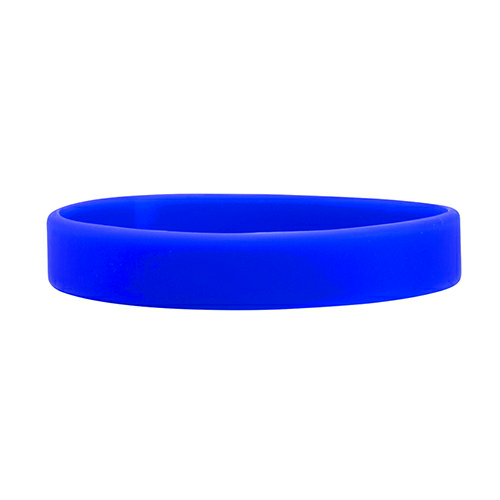 Blue Printed Wristbands 1/2