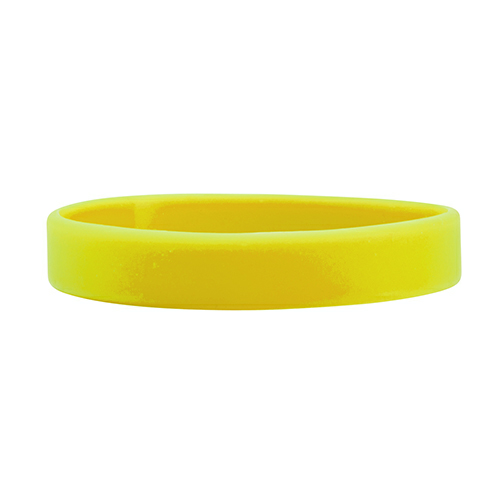 Yellow Printed Wristbands 1/2