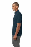 Regatta Blue Port Authority Ultra Stretch Pocket Polo as seen from the sleeveleft