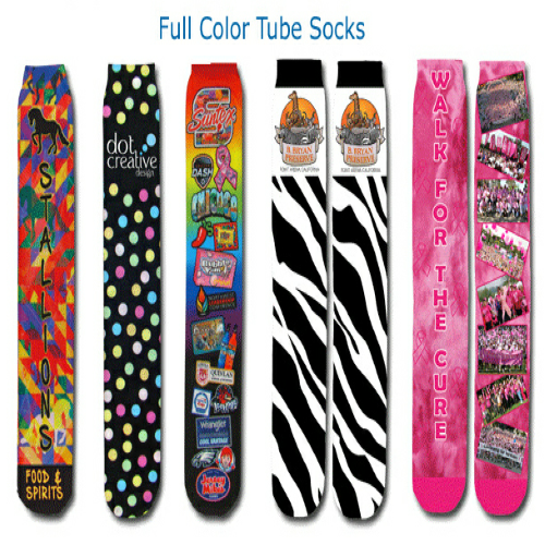 Default Couleurs Tube Socks as seen from the front