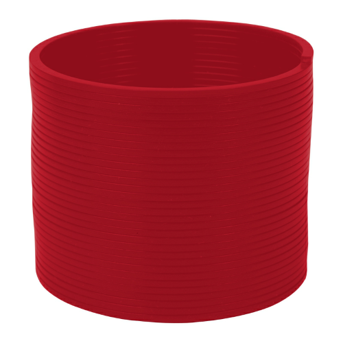 Red Round Spring Thing as seen from the front