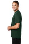 Forest Green Sport-Tek Competitor Tee as seen from the sleeveleft