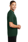 Forest Green Sport-Tek Competitor Tee as seen from the sleeveright