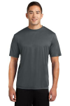 Iron Grey Sport-Tek Competitor Tee as seen from the front