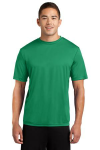 Kelly Green Sport-Tek Competitor Tee as seen from the front