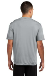 Silver Sport-Tek Competitor Tee as seen from the back