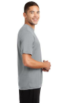 Silver Sport-Tek Competitor Tee as seen from the sleeveright