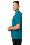 Tropic Blue Sport-Tek Competitor Tee as seen from the sleeveleft