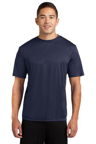 True Navy Sport-Tek Competitor Tee as seen from the front