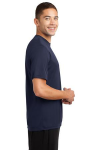 True Navy Sport-Tek Competitor Tee as seen from the sleeveright