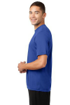 True Royal Sport-Tek Competitor Tee as seen from the sleeveleft