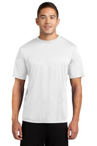 White Sport-Tek Competitor Tee as seen from the front