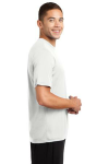 White Sport-Tek Competitor Tee as seen from the sleeveright