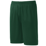 Forest Green Sport-Tek Competitor Short as seen from the sleeveleft