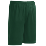 Forest Green Sport-Tek Competitor Short as seen from the sleeveright